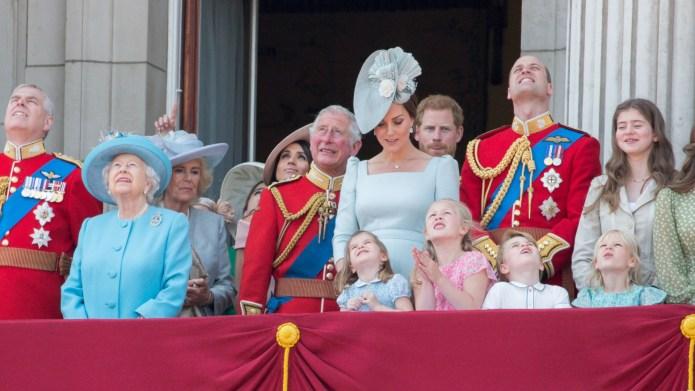 Queen Elizabeth II, Prince Charles, Meghan