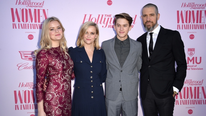 Ava Phillippe, Reese Witherspoon, Deacon Phillippe,