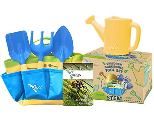 Roca Home Best Gardening Tools for Kids on Amazon