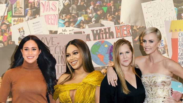 Meghan Markle, Beyonce, Amy Schumer, Charlize Theron Fighting to Change HERstory now, Women's History Month, March 2020