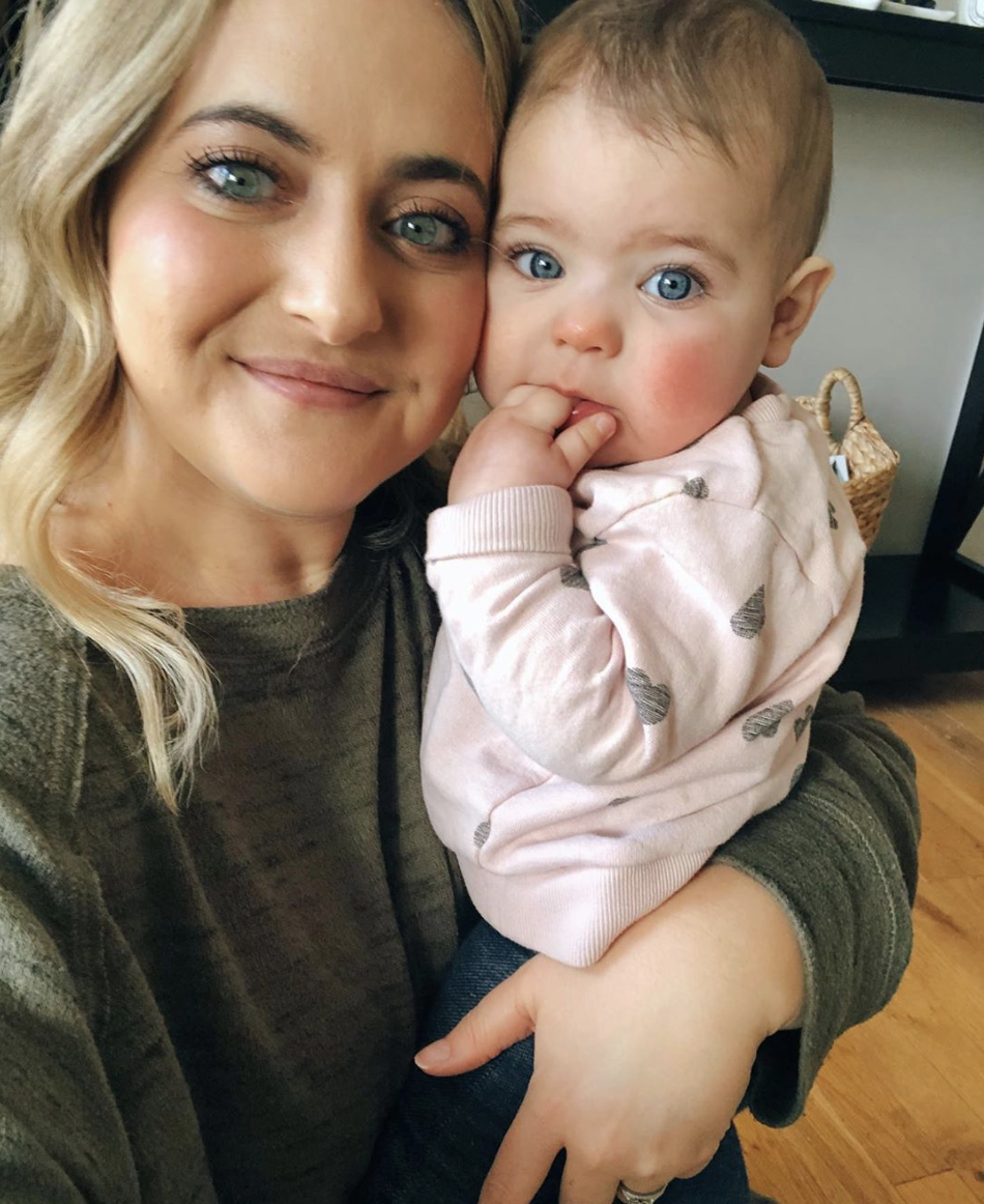 Jessica Booth and daughter