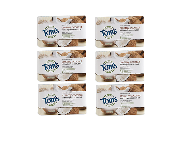 Tom's Bar Soap on Amazon