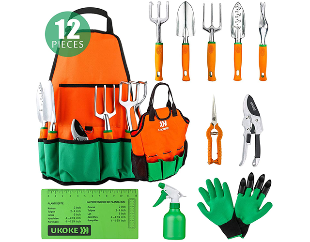 Ukoke Best Gardening Tools for Kids on Amazon