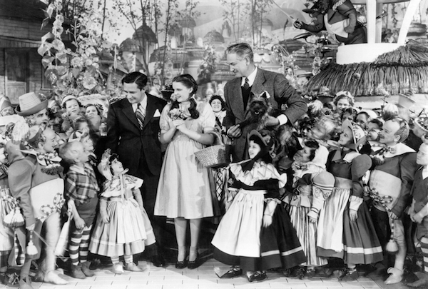 Victor Fleming with Oz cast