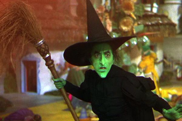 The Wicked Witch, Wizard of Oz
