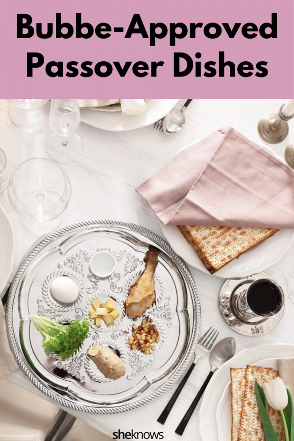 Delicious Passover Dishes