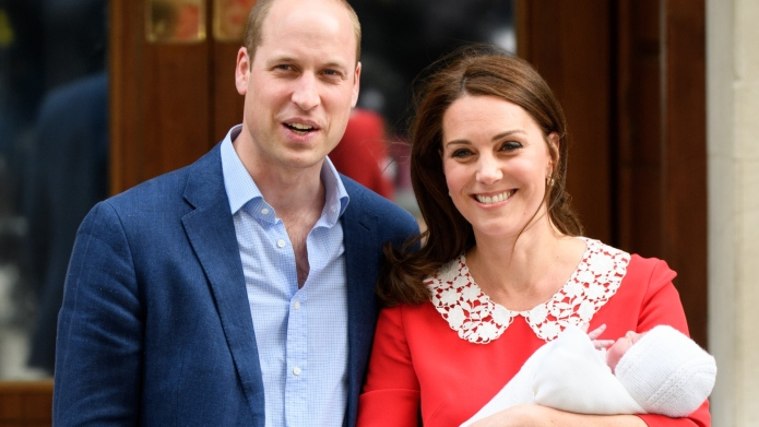 Kate Middleton, Prince Louis, Prince William