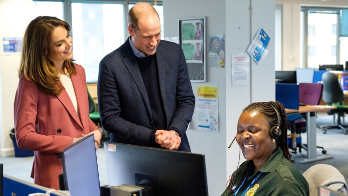 Prince William and Catherine Duchess of