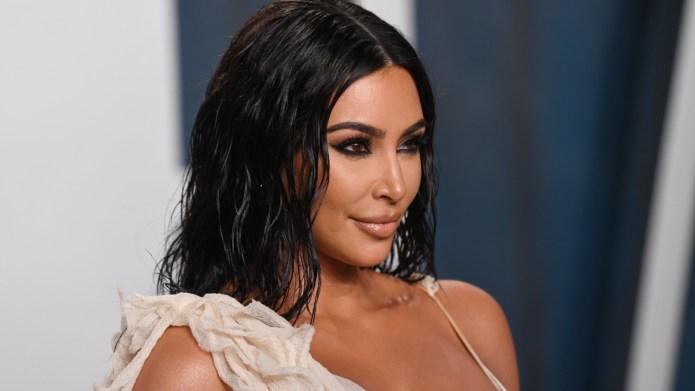 Kim Kardashian Vanity Fair party