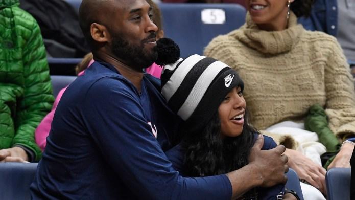 Kobe Gianna Bryant basketball game