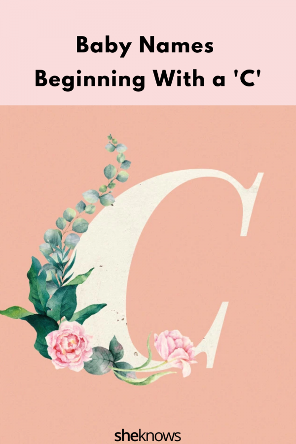 Baby Names Beginning With a 'C'
