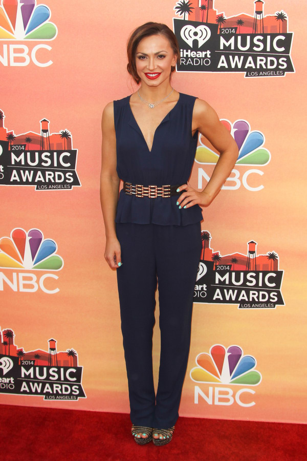 Karina Smirnoff at the 2014 iHeartRadio Music Awards