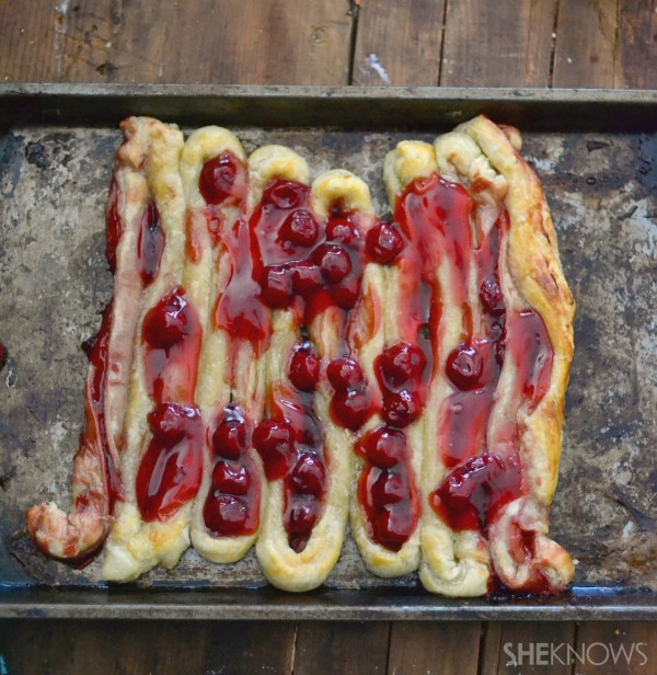Bloody intestines recipe