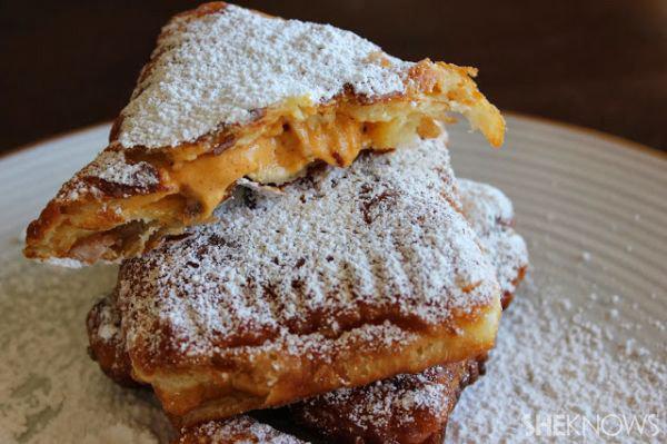 Pumpkin-cream cronuts