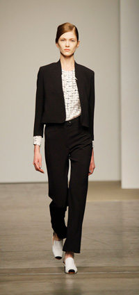 Rachel Commey -- New York Fashion Week 2012