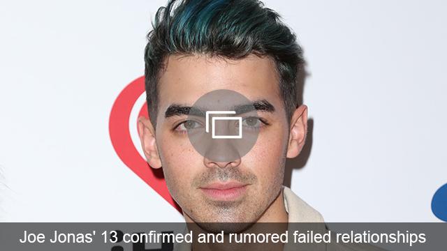 Joe Jonas relationships slideshow