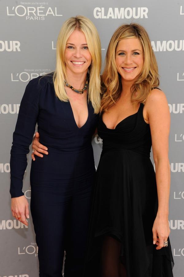 Jennifer Aniston & Chelsea Handler