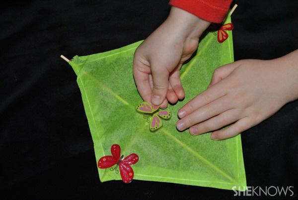 Kite craft for kids