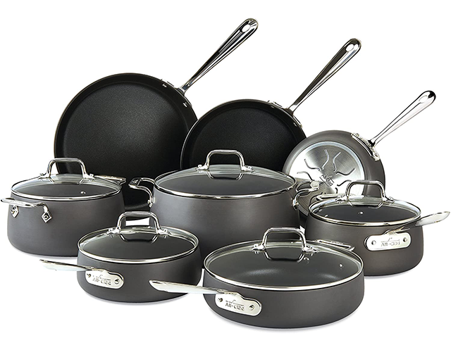 All Clad Best Nonstick Pots on Amazon