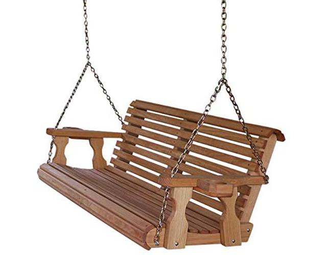 Amish Heavy Best Porch Swing Amazon
