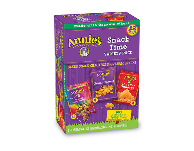Annie's Variety Snack Pack Best Lunch Snacks for Kids on Amazon
