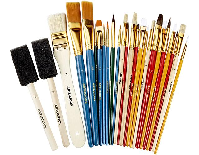 Artilicious Best Oil Paint Brushes Amazon
