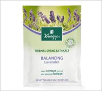 Kneipp Lavender Balancing Salt Sachet, $5