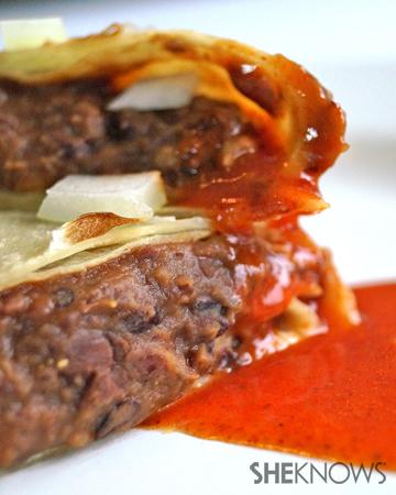 Organic Bean Burrito Recipe