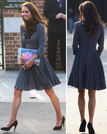 Kate Middleton's calves