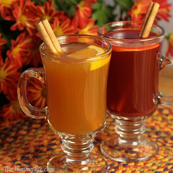 Spiced hot drink mix