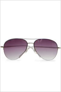 Sunglasses: Mango aviator sunglasses