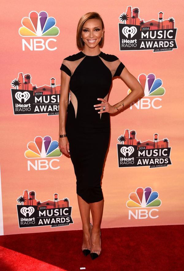 Giuliana Rancic at the 2014 iHeartRadio Music Awards