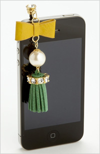 My pick: Cara accessories Smart Phone tassel charm, $28, Nordstrom.com