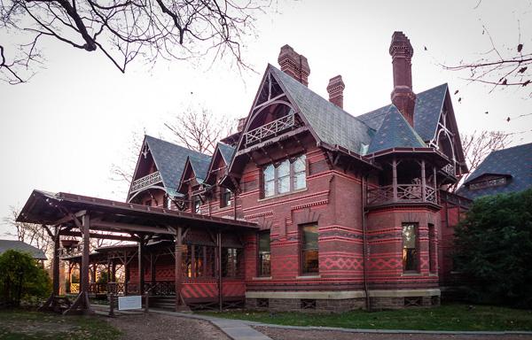 Mark Twain home in Hartford, Connecticut