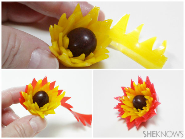 Fantastical Fruit Roll-Ups flowers