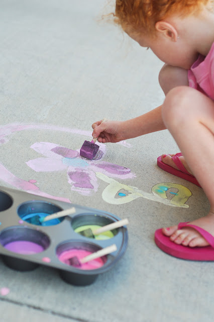 Swap sidewalk chalk for paint | Sheknows.com