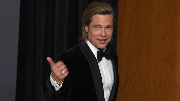Did You Catch Brad Pitt's Weatherman