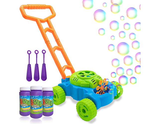 Bubble Mower Best Outdoor Toddler Toys on Amazon