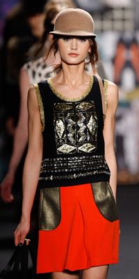NY Fashion Week 2012 -- Tracy Reese