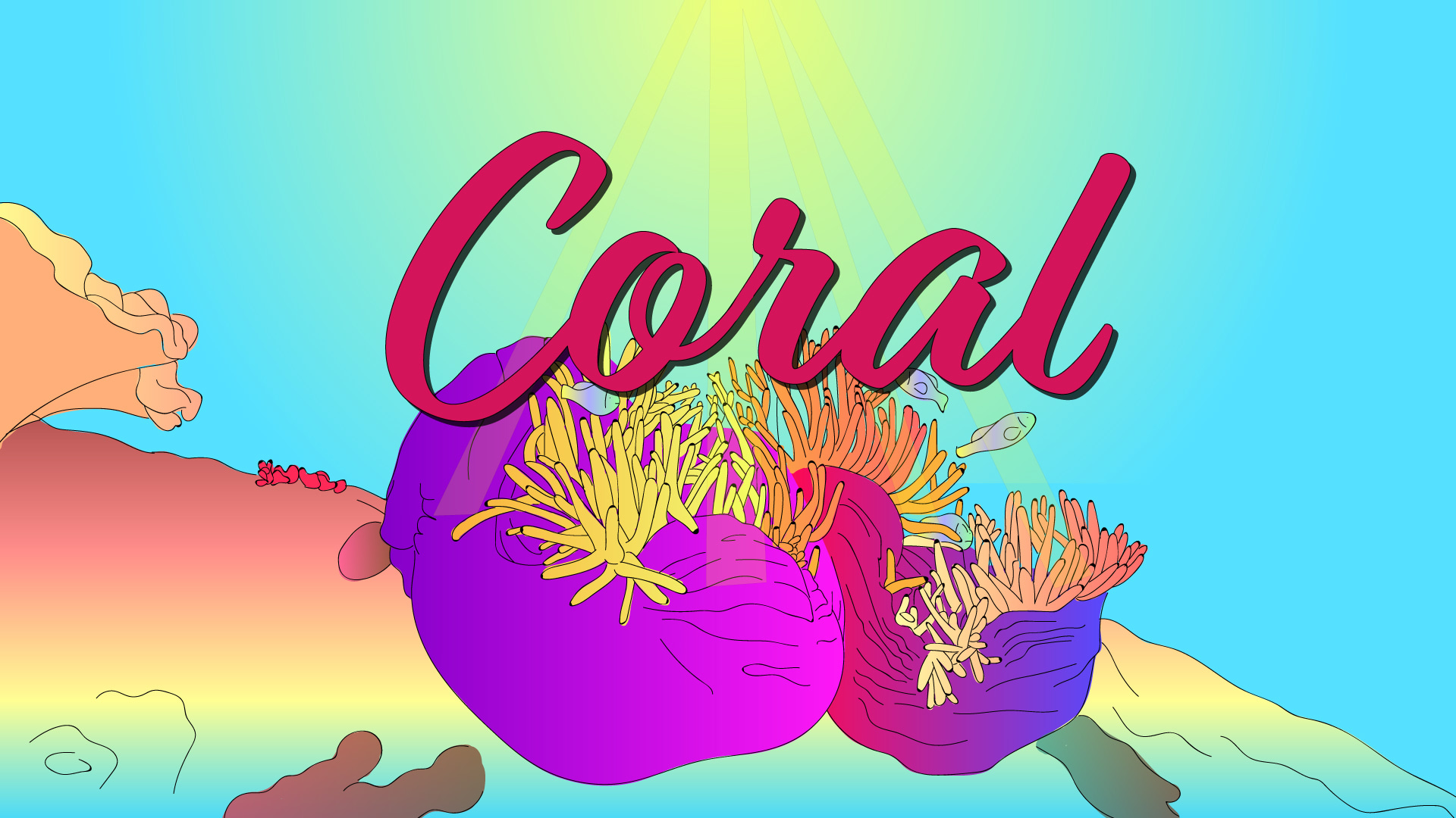 C baby names Coral