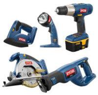Ryobi tool combo kit