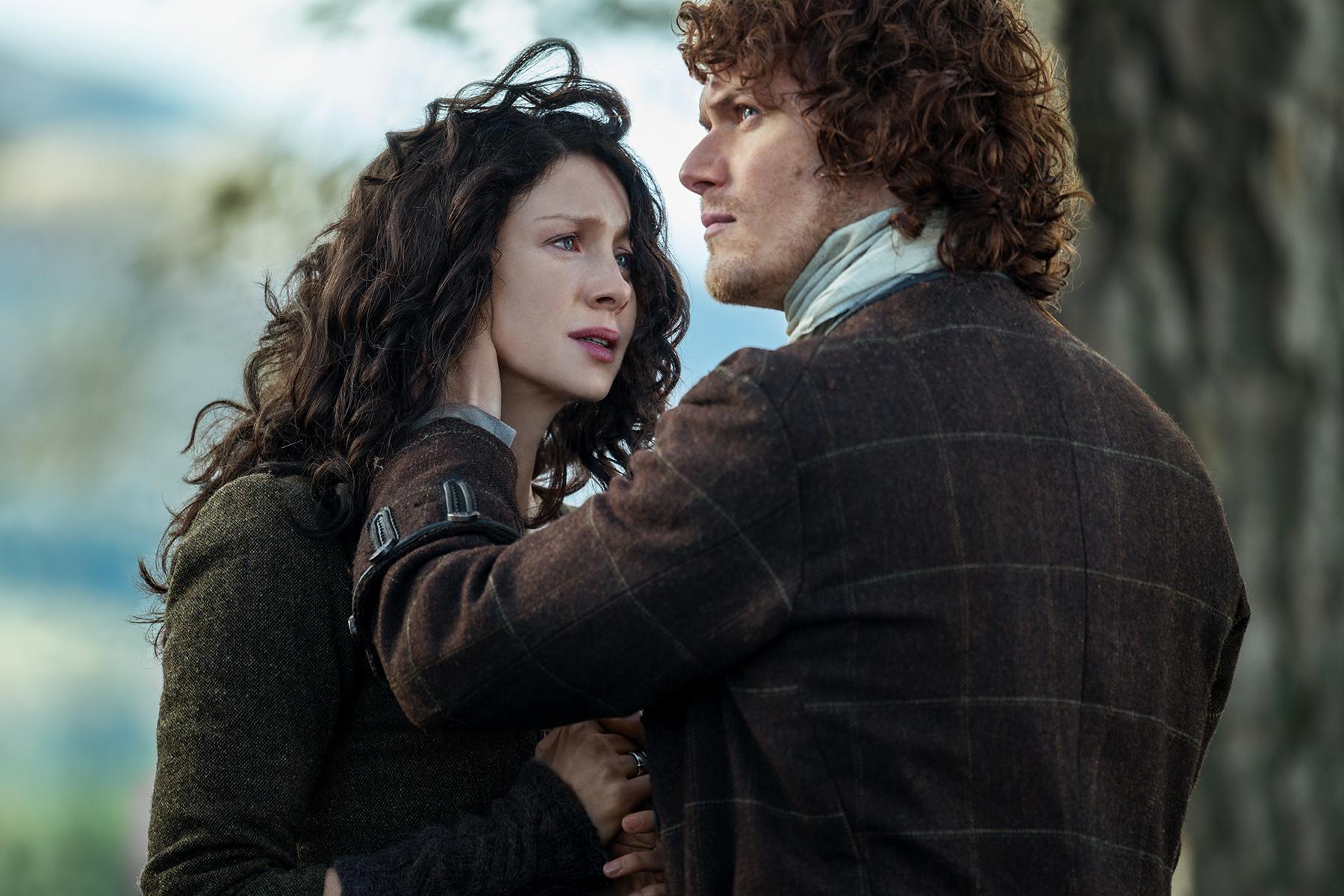 Outlander': Jamie & Claire's Best Fights & Make-Up Sex Scenes – SheKnows