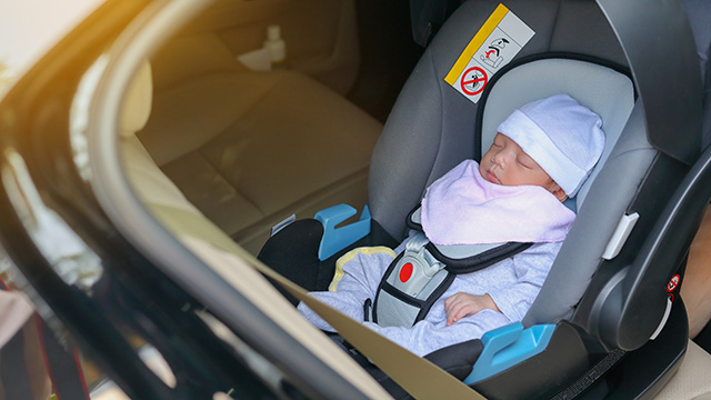 infant in car seat
