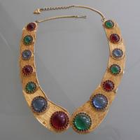 My choice: Vintage Mosell Gemstone Collar (1st Dibs, $300)