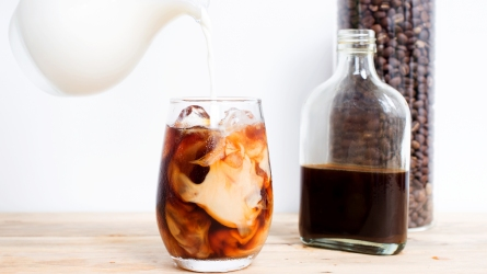 cold brew iced coffee ; Shutterstock