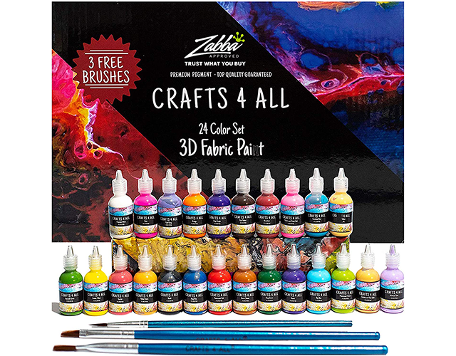Crafts 4 All Best Fabric Paints on Amazon