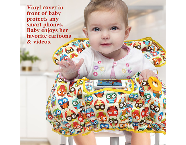 Croc N Frog Best High Chair Cover on Amazon