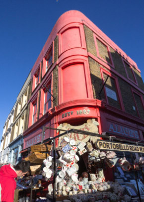 Portobello Road Market in London