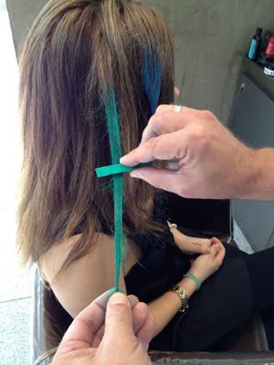 Step 3: Add the color   Sheknows.ca