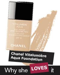 Chanel Vitalumiére Aqua Foundation